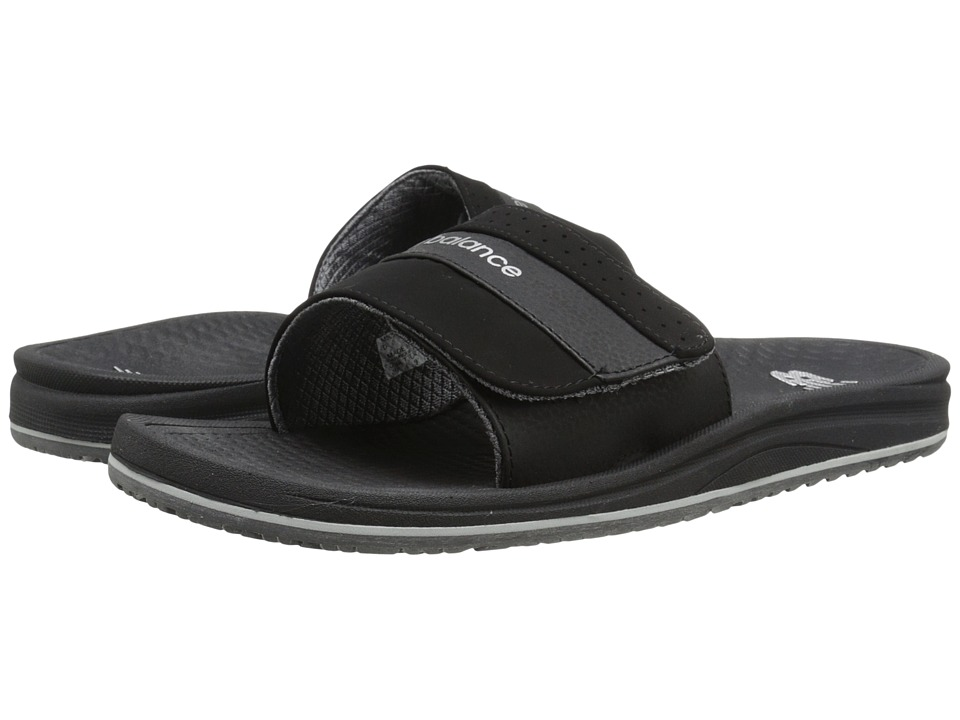 New Balance - PureAlign Slide (Black) Men's Shoes