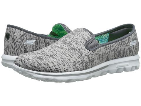 SKECHERS Performance - GO Walk - Vivid (Gray) Women's Shoes