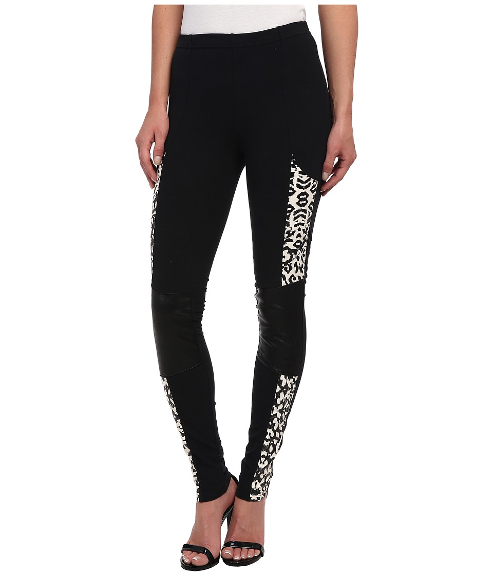 MINKPINK - Street Instinct Leggings (Black) Women's Casual Pants