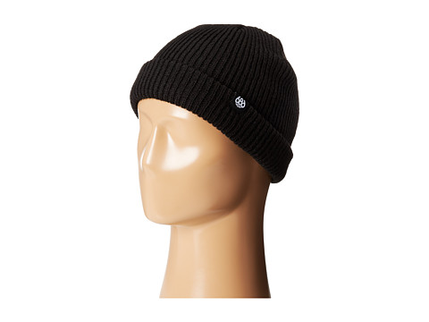 686 - Roll-Up Beanie (Black) Beanies
