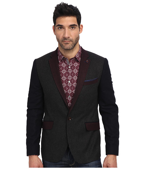 Ted Baker - Septa Wool Mix Blazer (Charcoal) Men