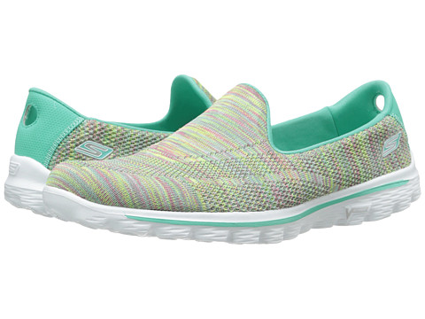 SKECHERS Performance - Go Walk 2 - Hypo (Aqua Multi) Women's Shoes
