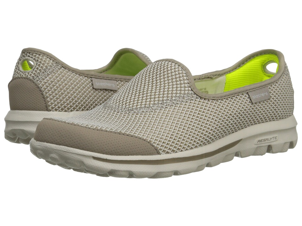 SKECHERS Performance - Go Walk - Rival (Stone) Women