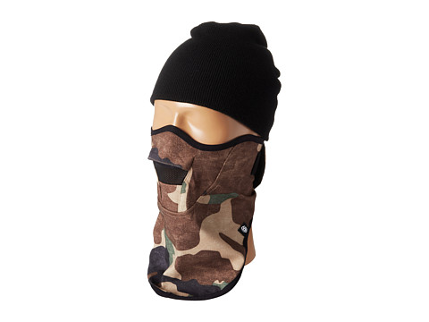 686 - Strap Face Mask (Hunter Canvas Camo) Knit Hats