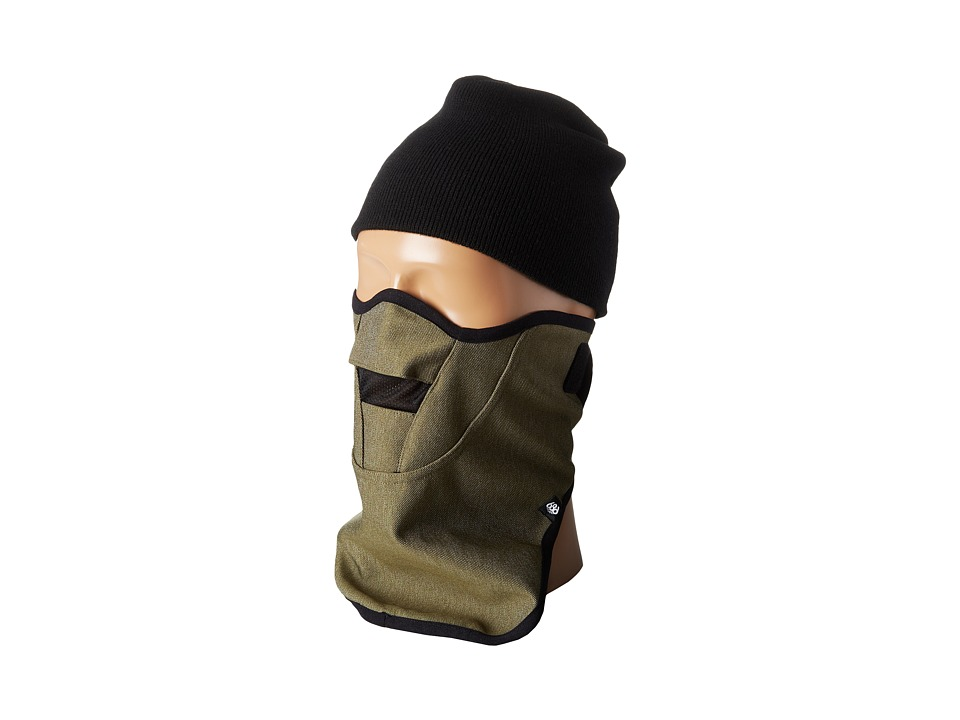 686 - Strap Face Mask (Army Twill Denim) Knit Hats