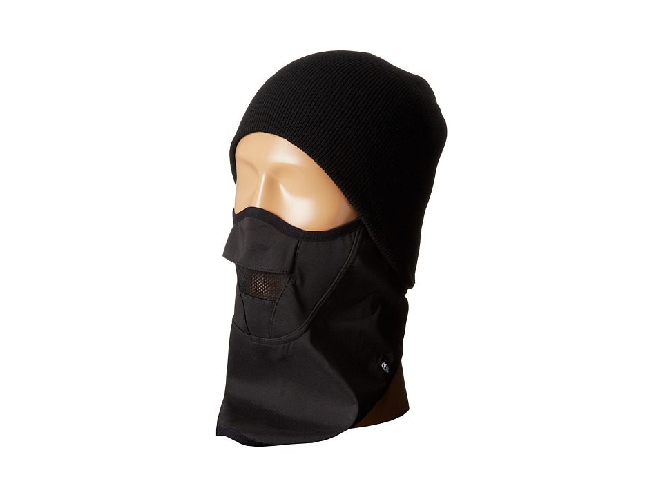 686 - Strap Face Mask (Black) Knit Hats