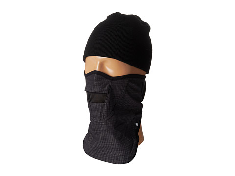 686 - Maiden Face Mask (Black Heather Ripstop) Knit Hats