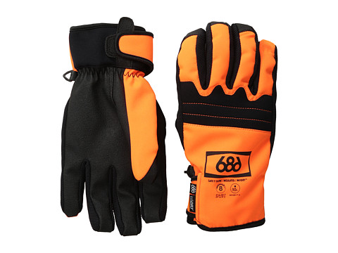 686 - Authentic Safety Glove (Orange) Over-Mits Gloves