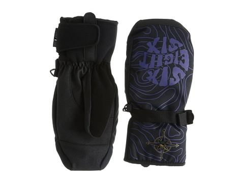 686 - Forest Bailey Cosmic Mitt (Black Cosmic Map) Over-Mits Gloves