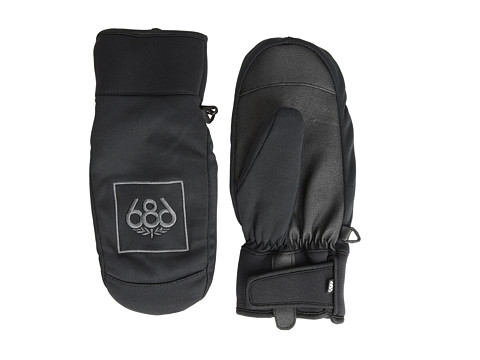 686 - Authentic Mountain Pipe Mitt (Black) Over-Mits Gloves