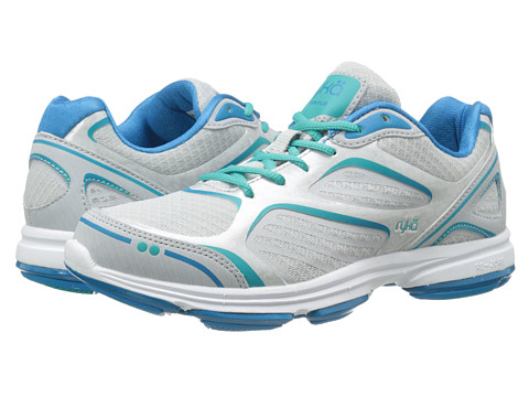 Ryka - Devotion Plus (Cool Mist Grey/Malibu Teal/Teal Blast/Iron Grey) Women's Shoes