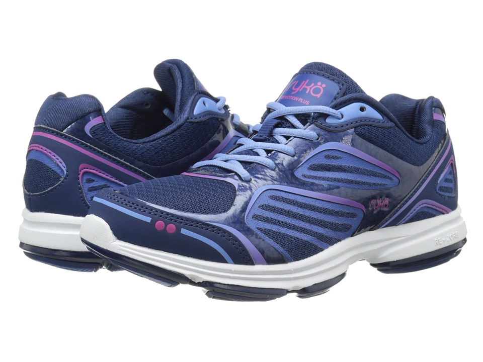 Ryka - Devotion Plus (Jet Ink Blue/Royal Blue/Elite Blue/Ryka Pink) Women's Shoes