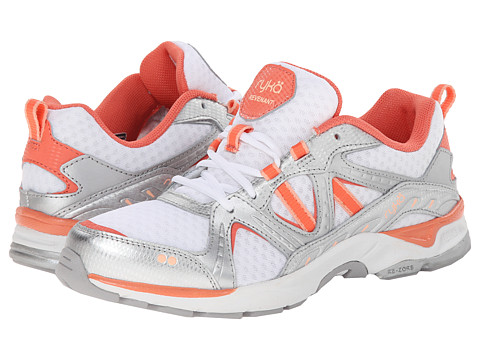 Ryka - Revenant (White/Peach Nectar/Coral Reef/Chrome Silver) Women