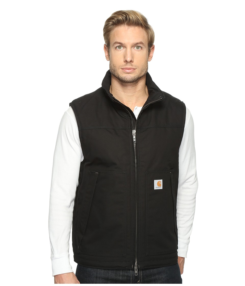 Carhartt - Quick Duck Jefferson Vest (Black) Men's Vest