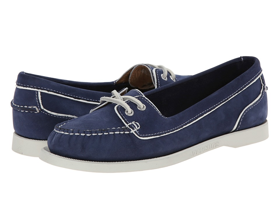 Sebago Dockside Two Eye (Navy Leather) Women
