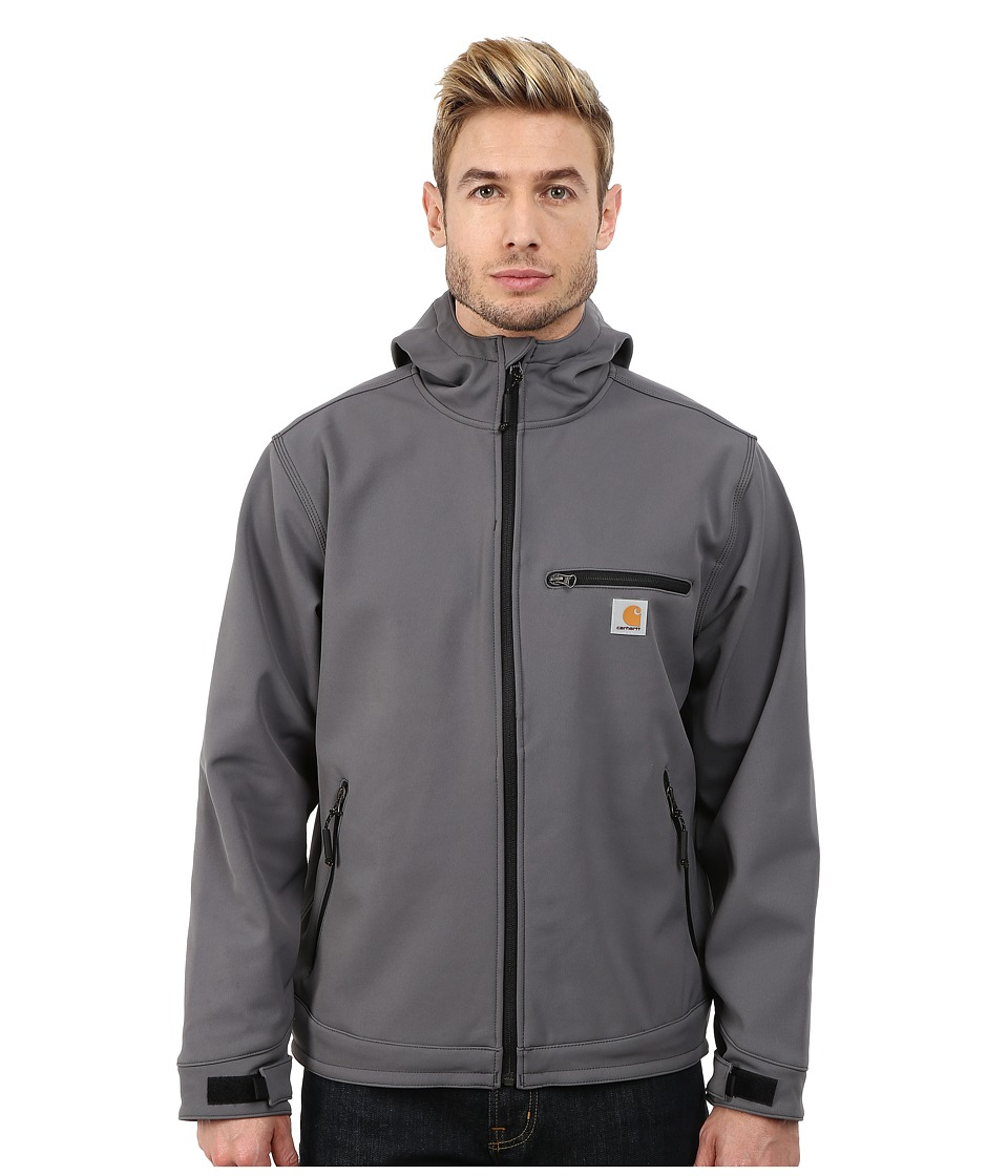 Carhartt - Crowley Hooded Jacket (Charcoal) Men's Jacket