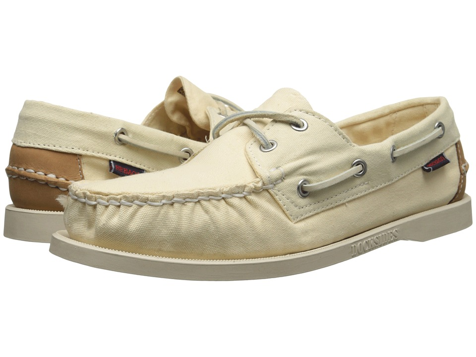 Sebago Spinnaker Canvas (Beigh Canvas) Women