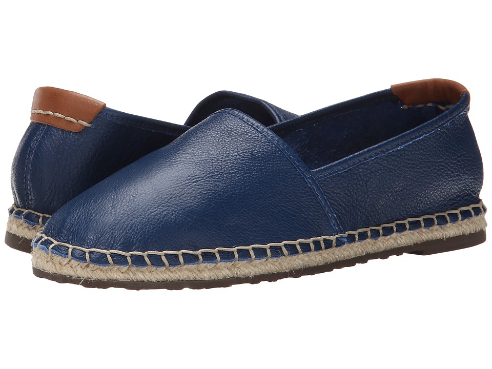 Sebago Darien Slip On (Navy Leather) Women