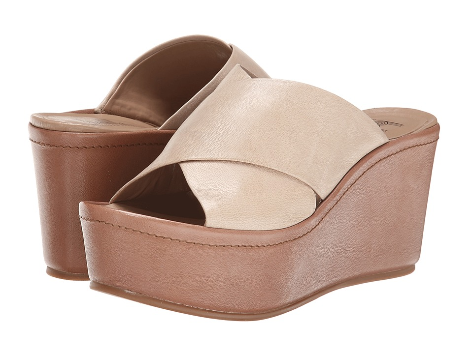 Belle by Sigerson Morrison - Deka (Sand/Taupe Leather) Women's Shoes