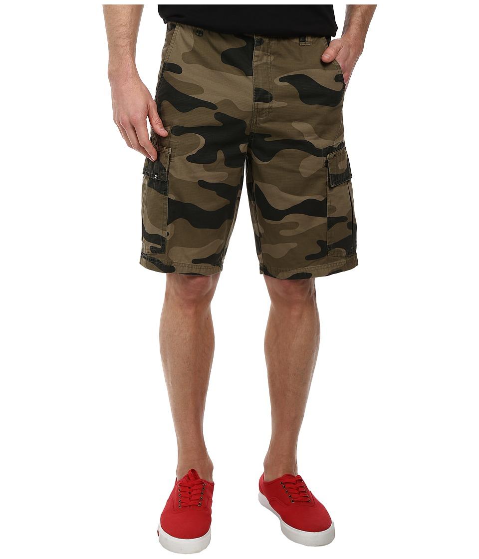 Billabong - Scheme Cargo Walkshort (Military Camo) Men's Shorts
