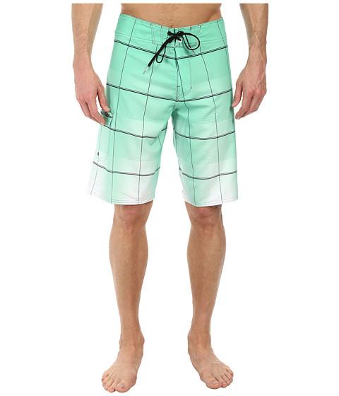 Billabong - All Day Plaid Boardshort (Mint) Men