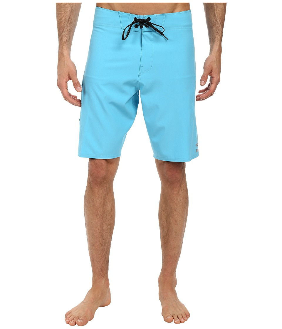 Billabong - All Day Solid Boardshort (Cyan) Men's Swimwear