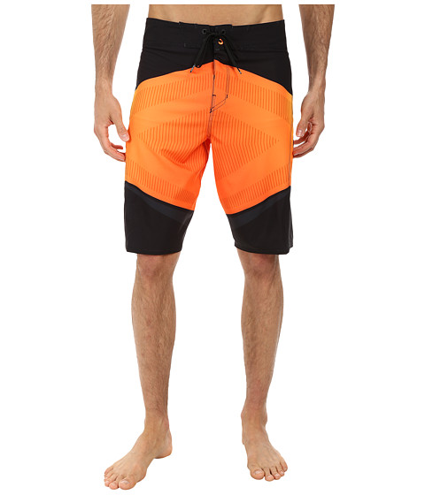 Billabong - Dominance 22 Boardshort (Black Orange) Men's Swimwear