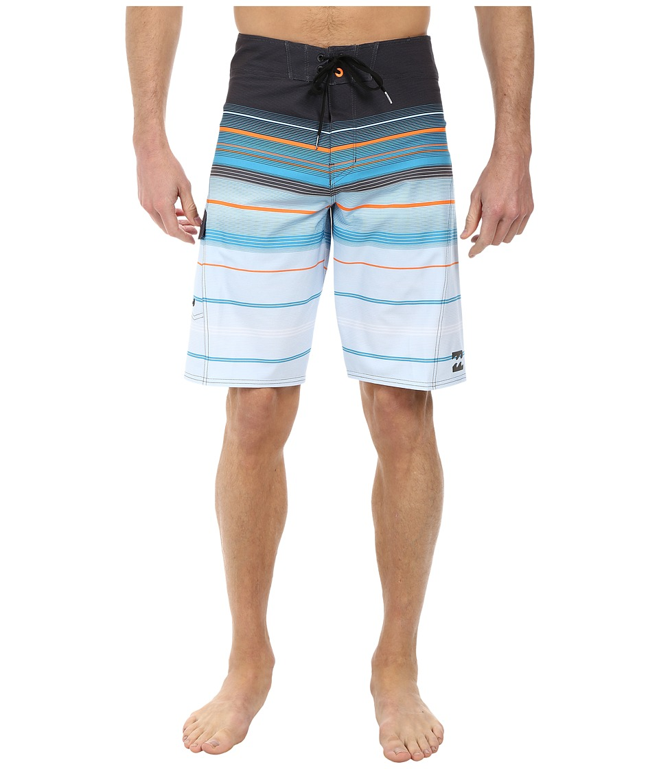 Billabong - All Day Stripe 21 Boardshort (Charcoal) Men