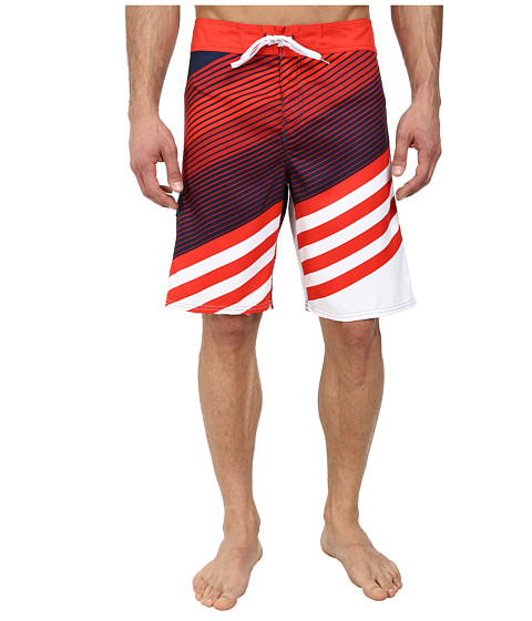 Billabong - Slice 21 Boardshort (Red) Men's Swimwear