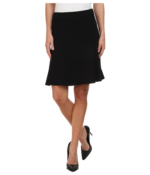 Calvin Klein - Flared Skirt (Black) Women