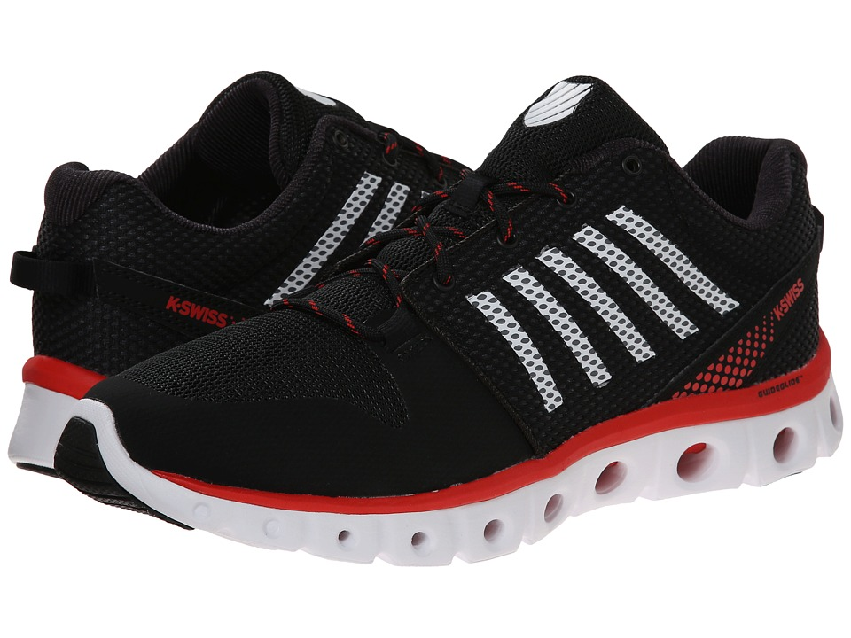 K-Swiss - X-Lite Comfort (Black/Red) Men's Running Shoes