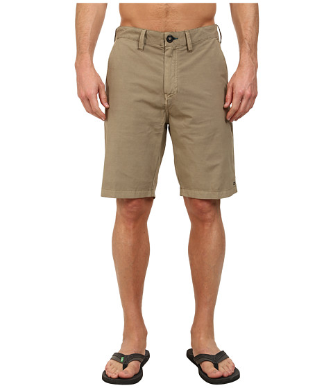 Billabong - New Order X Overdye 21 Hybrid Short (Dark Khaki) Men's Shorts