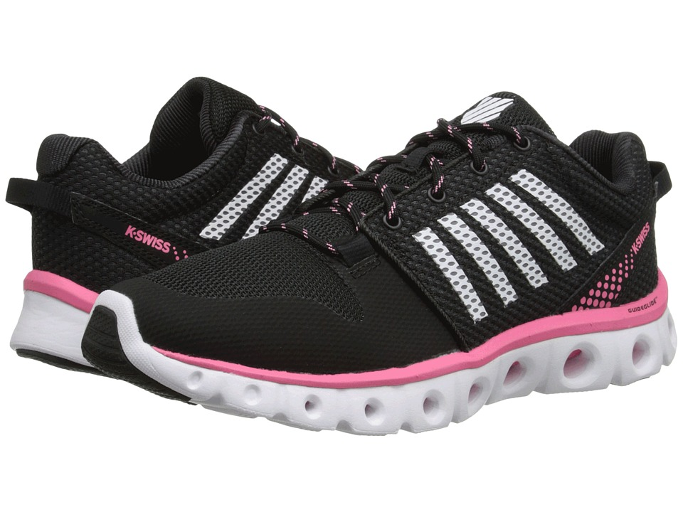 K-Swiss - X-Lite Comfort (Black/Pink Lemonade) Women