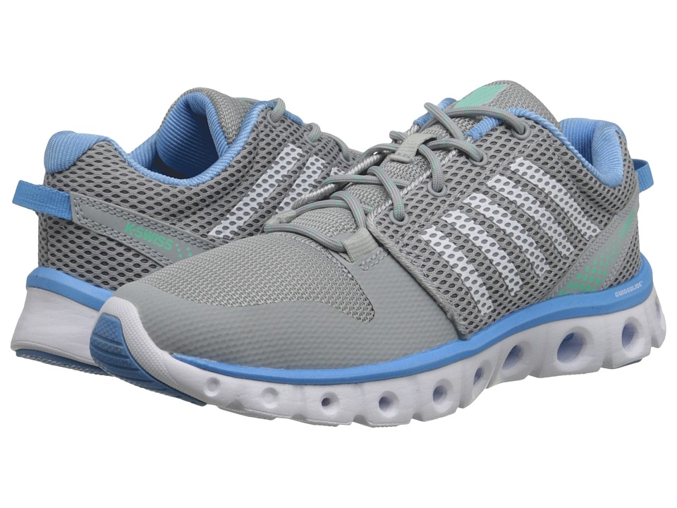 K-Swiss - X-Lite Comfort (Storm/Bonnie Blue/Mint) Women's Running Shoes