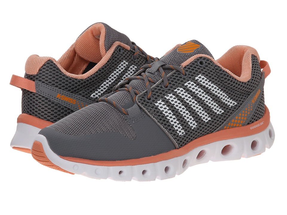 K-Swiss - X-Lite Comfort (Stingray/Papaya/Orange) Women's Running Shoes