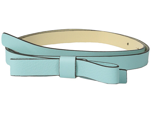 Kate Spade New York - Skinny Bow Belt (Venus Blue) Women's Belts