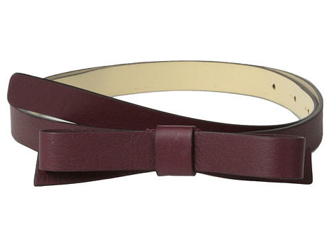 Kate Spade New York - Skinny Bow Belt (Chianti) Women