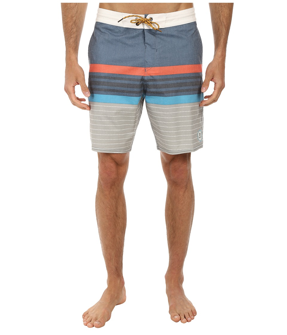 Billabong - Spinnder Lo Tides 19 Boardshort (Marine) Men's Swimwear