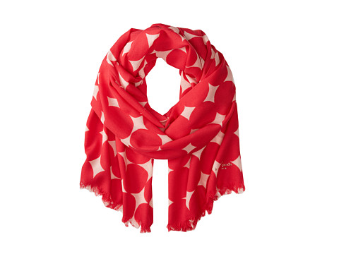 Kate Spade New York - Balloon Dot Scarf (Aladdin Pink) Scarves