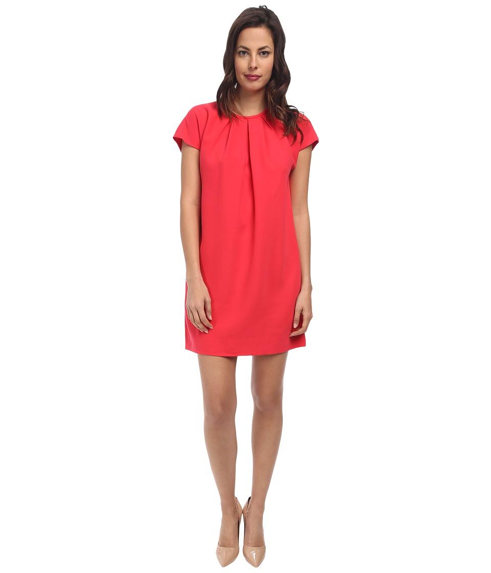 Kate Spade New York - Cap Sleeve Crepe Dress (Aladdin Pink) Women's Dress