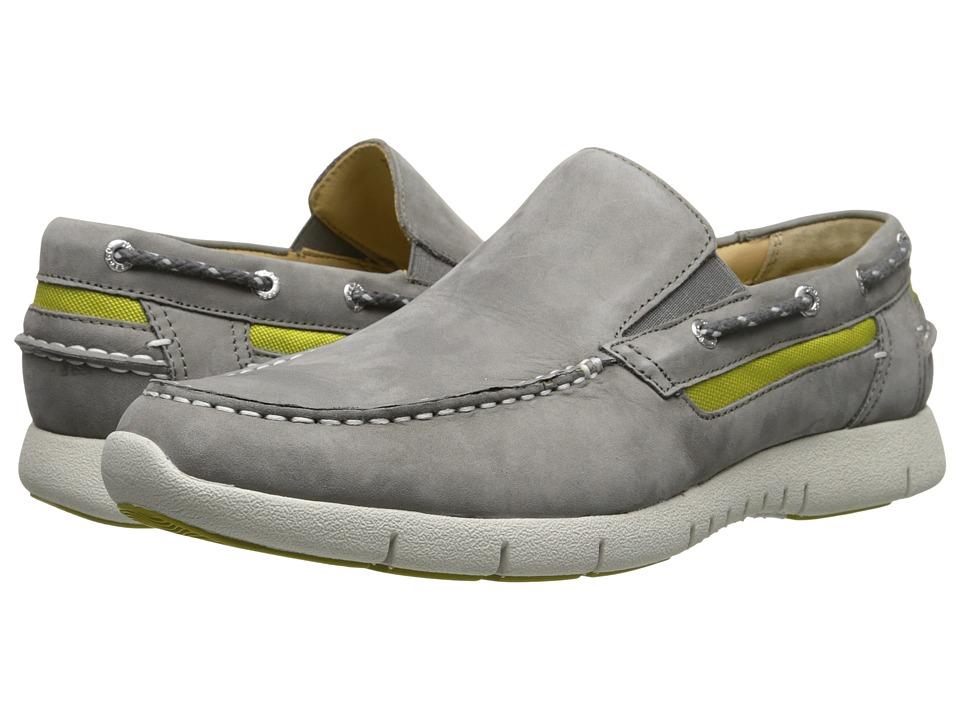 Sebago - Kinsley Slip-on (Grey Nubuck) Men's Slip on Shoes
