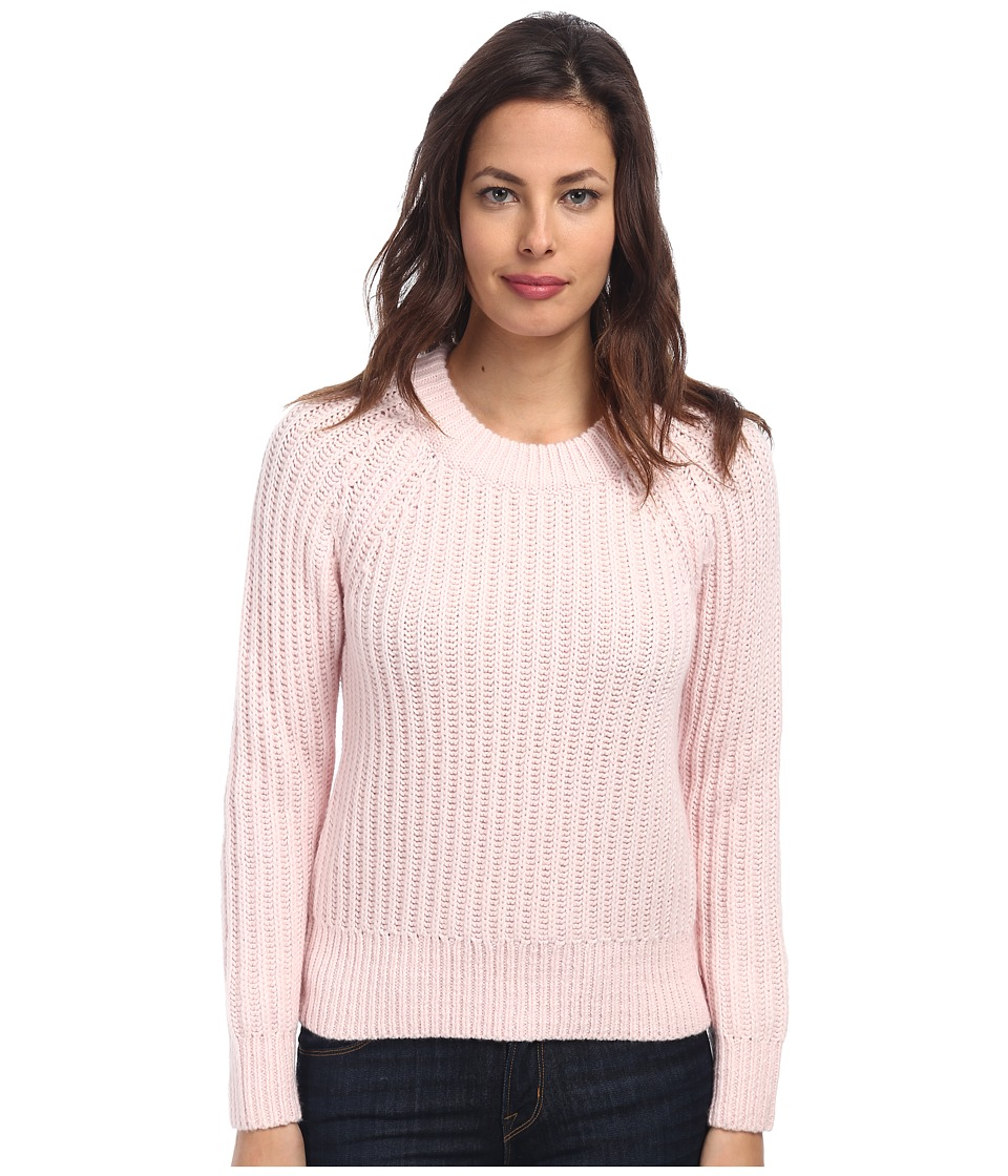 Kate Spade New York Winter Wool Side Zip Sweater (Blush) Women