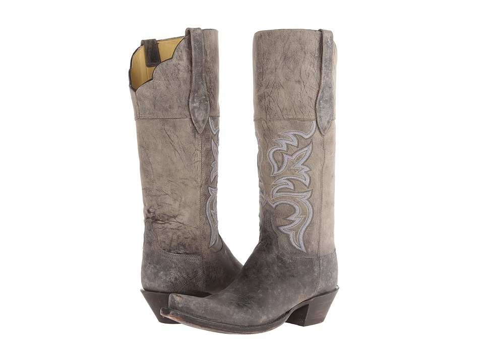 Lucchese - Morgan (Anthracite) Cowboy Boots
