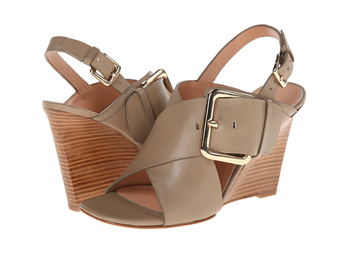 Sigerson Morrison - Xia (Sand Taupe Leather) Women