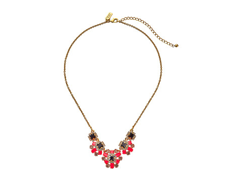 Kate Spade New York - Space Age Floral Small Necklace (Geranium Multi) Necklace