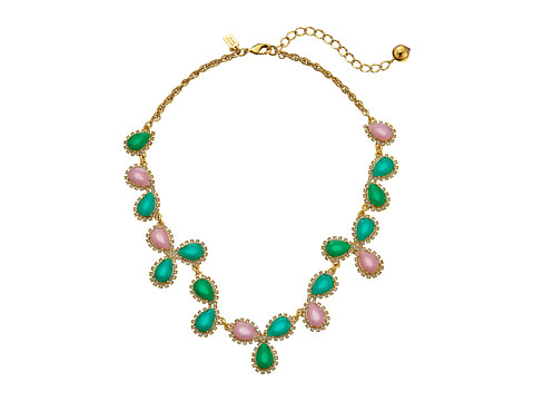 Kate Spade New York - Balloon Bouquet Cluster Necklace (Green Multi) Necklace