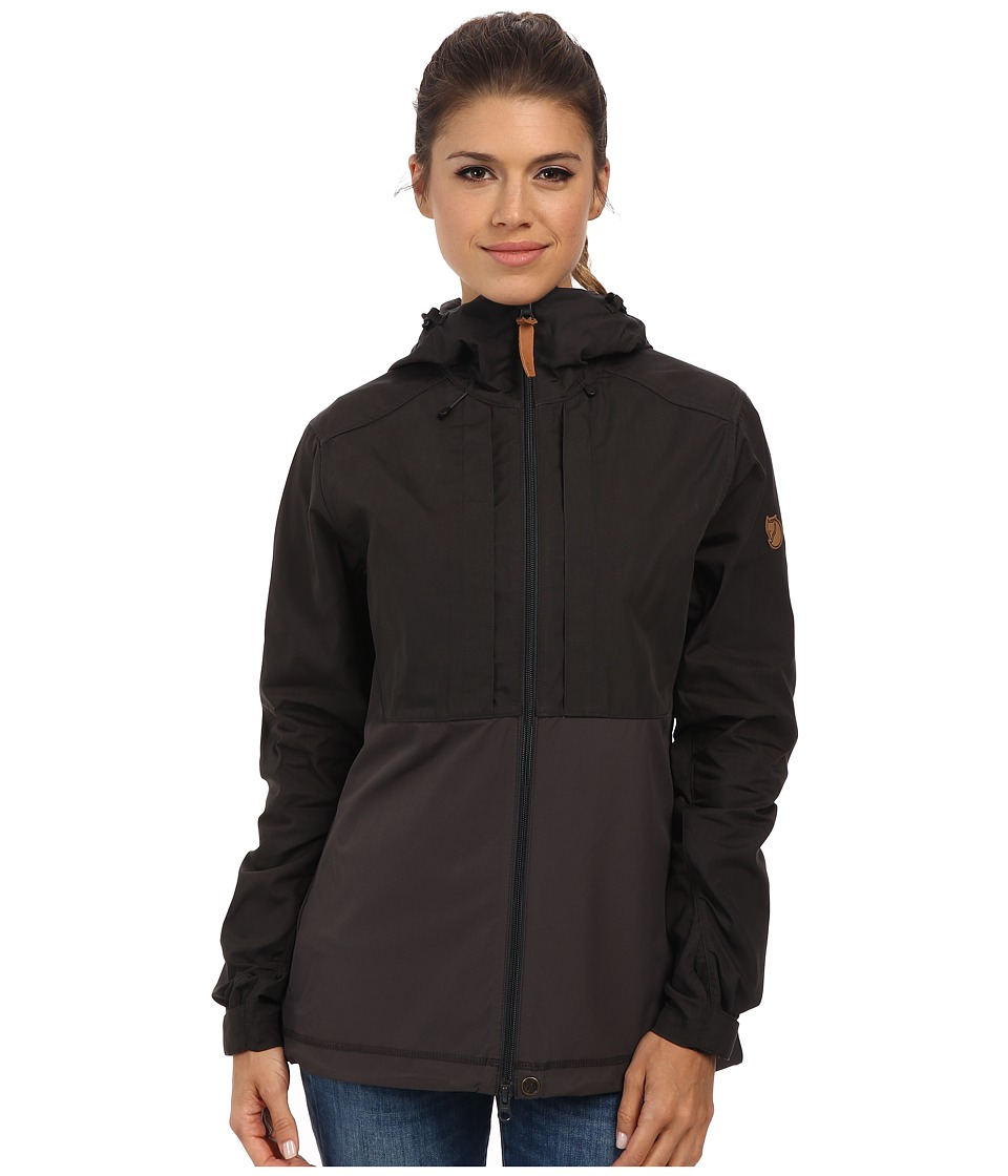 Fjallraven - Abisko Lite Jacket (Dark Grey/Dark Grey) Women's Coat