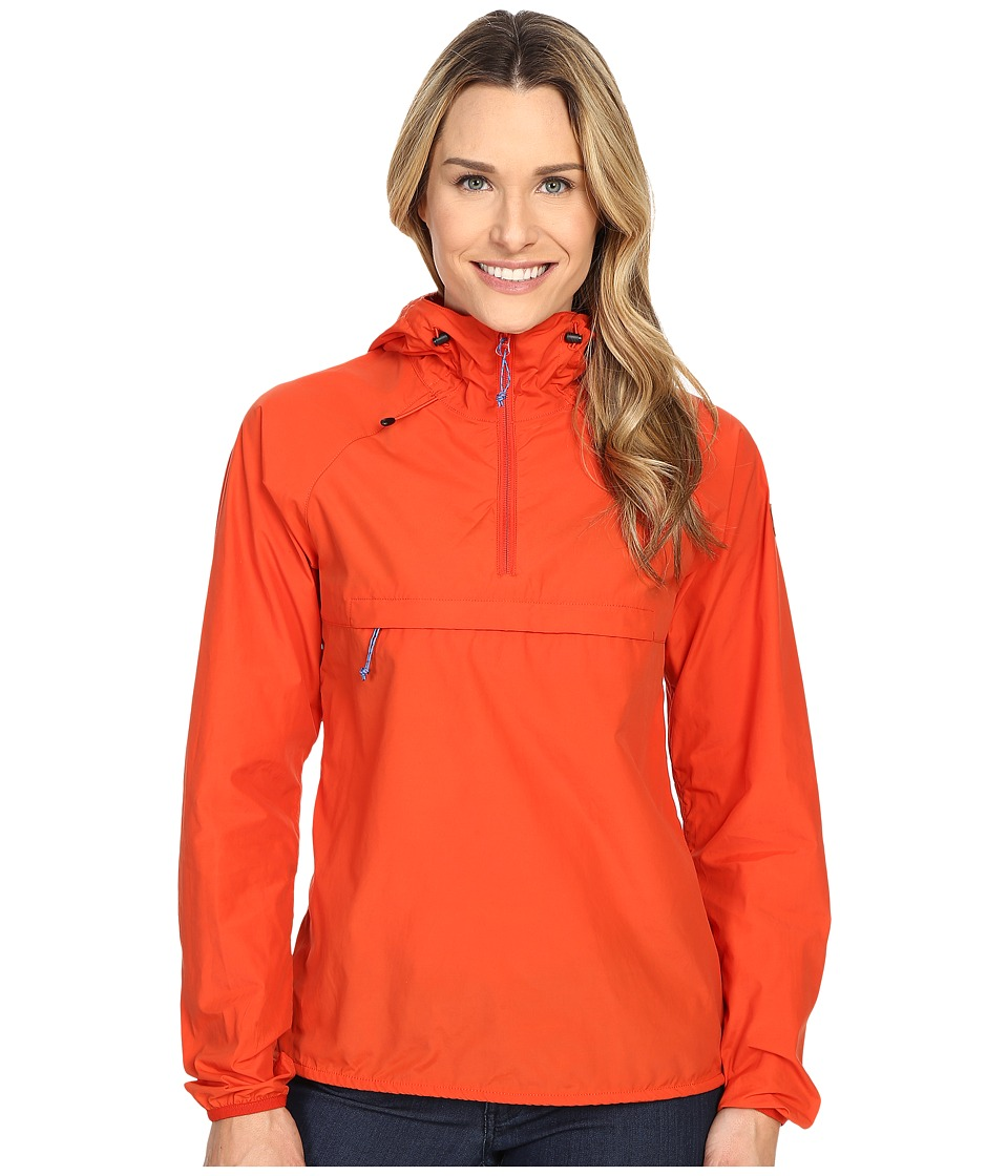 Fj llr ven - High Coast Wind Anorak (Flame Orange) Women's Coat