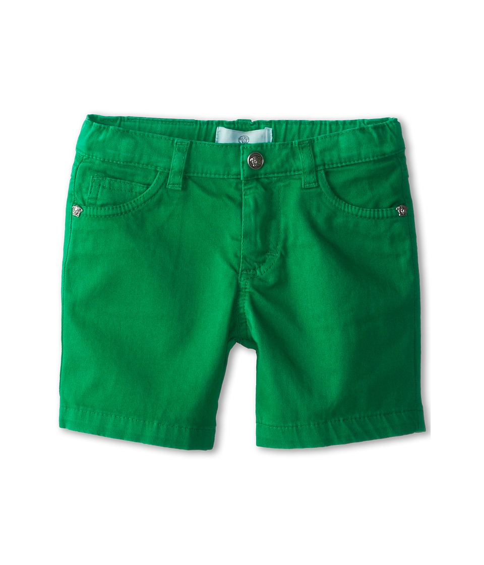 Versace Kids - Colored Bermuda Shorts (Infant) (Green) Boy