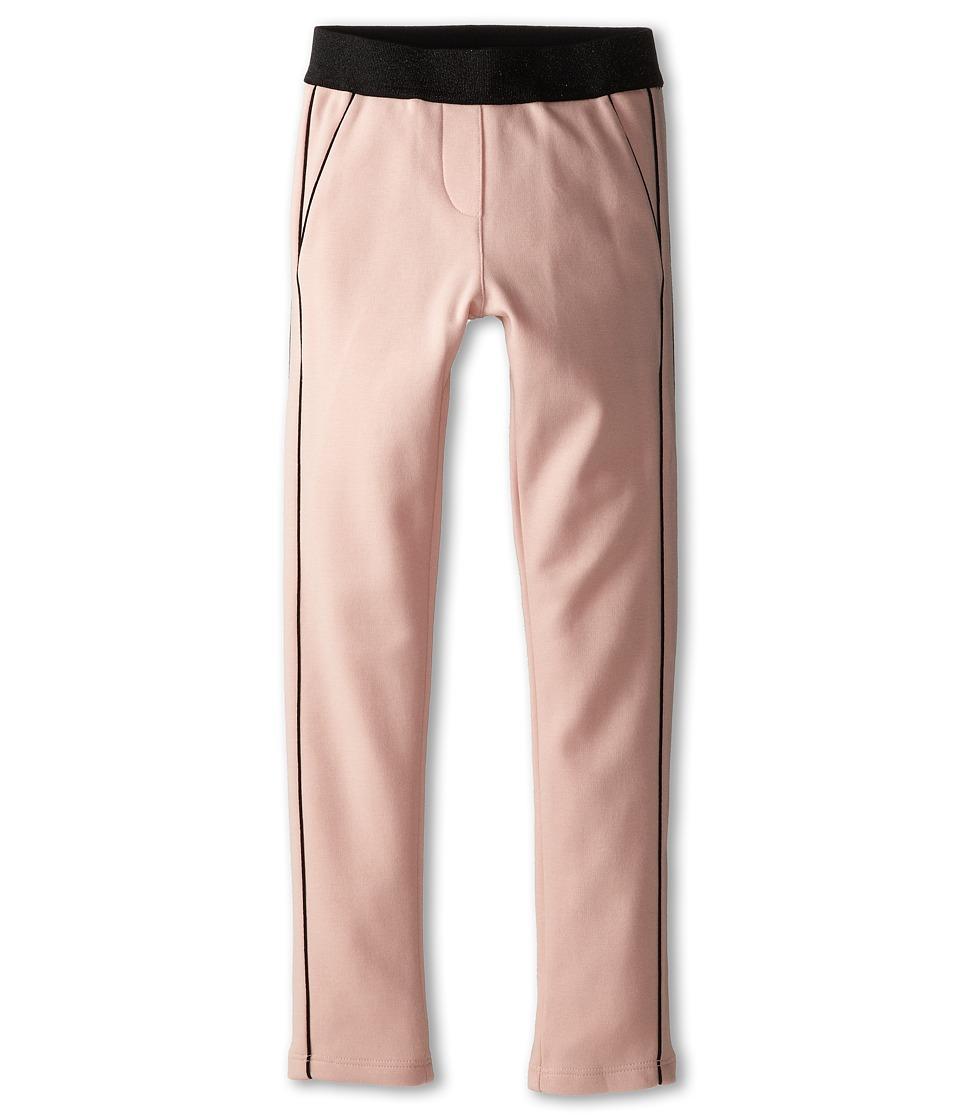 Little Marc Jacobs - Milano Fabric Lurex Waist Pants (Little Kid/Big Kid) (Light Pink) Girl's Casual Pants